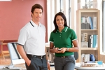 Chestnut Hill Men's Polo Shirt: 100% Cotton Tipped Performance Plus Pique (CH113)