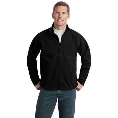 Port Authority Men's Jacket: Tall Textured Soft Shell (TLJ705)
