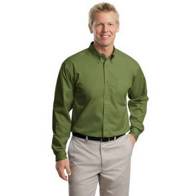 Port Authority Men's Dress Shirt: Long Sleeve Easy Care Woven (S608)