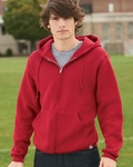 Russell Athletic Men�s Sweatshirt: 50/50 Dri-Power Fleece Full-Zip Hoodie (697HBM)