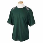 Russell Athletic Men's T-Shirt: 100% Polyester Dri-Power with Colorblock Inserts (6B6DPM)