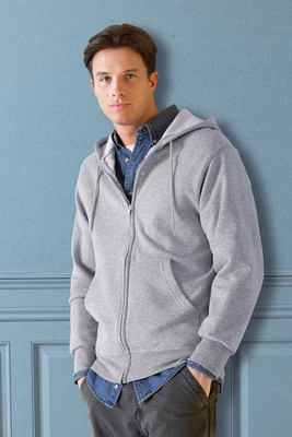 Fruit of the Loom Men's Sweatshirt: 8 oz. Best 50/50 Full-Zip Hood (16230R)