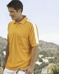 Devon & Jones Men's Polo Shirt: Dri-Fast Advantage Colorblock Mesh (DG375)