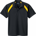 Ash City Youth Polo Shirt: Eperformance Color-Block Pique (65002)