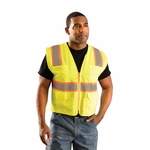 OccuNomix Men�s Vest: Classic Mesh Two Tone Surveyor Class 2 (LUXATR)