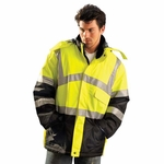 OccuNomix Men's Parka: Insulated Cold Weather�Class 3 (LUXTJC)