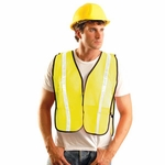 OccuNomix Men's Vest: Value Mesh Gloss (LUXXGT)