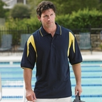 Proline Men's Polo Shirt: Jersey Performance w/ Moisture Wicking (1002)