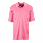 Ashworth Men's Polo Shirt: 100% Polyester Interlock Performance Solid (3044)