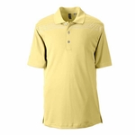 Ashworth Men's Polo Shirt: 100% Polyester Interlock Print (3047)