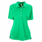 Ashworth Women's Polo Shirt: 100% Polyester Interlock Performance Solid (3050)