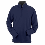 Ashworth Men's Jacket: French Terry Half-Zip Pullover (4019)