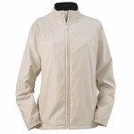 Ashworth Women's Jacket: 100% Polyester Doeskin Wind Full-Zip Lined (5401C)