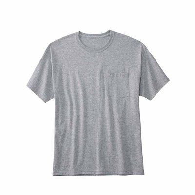 Hanes Men's T-Shirt: 50/50 ComfortBlend w/ Pocket (5177)