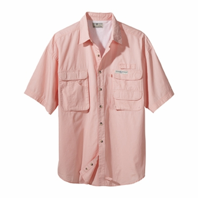 Hook & Tackle Men's Fishing Shirt: Gulf Stream Short-Sleeve (1013S)