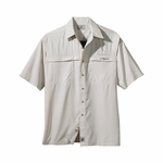 Hook & Tackle Men's Fishing Shirt: Peninsula Short-Sleeve Performance (1015S)