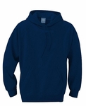 Ash City Men's Sweatshirt: 100% Cotton Fleece Hooded Popover Raglan Sleeve (221214)
