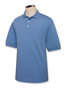 Cutter & Buck Men's Polo Shirt: 100% Cotton  Short Sleeve (MCK02482)