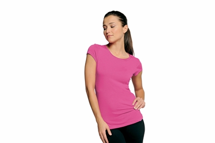alo Women's T-Shirt: Short-Sleeve Bamboo (W1004)
