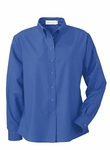 Il Migliore Women's Oxford Shirt: Wrinkle Resistant Long Sleeve Button Down (77004)