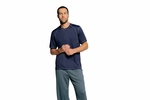 alo Men's T-Shirt: Short-Sleeve 100% Polyester Interlock (M1021)