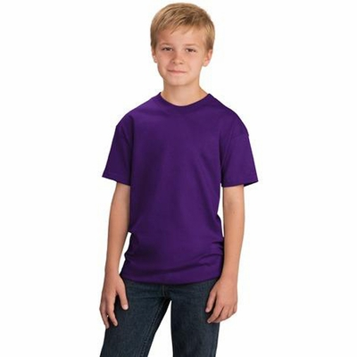 Port & Company Youth T-Shirt: 100% Cotton (PC54Y)