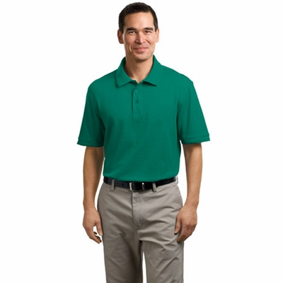 Port Authority Men's Polo Shirt: Performance Waffle Mesh (K492)