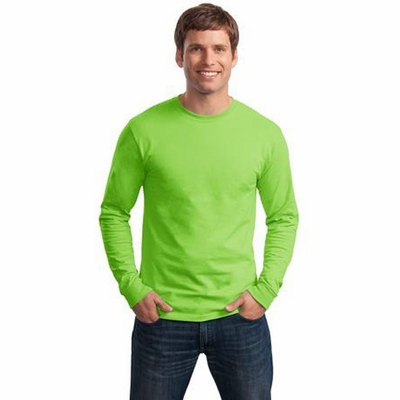 Hanes Men's T-Shirt: 100% Cotton Tagless Long-Sleeve (5586)