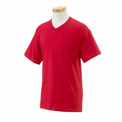 Fruit of the Loom Men's T-Shirt: 100% Cotton V-Neck (39VR)