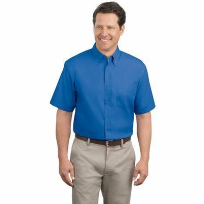 Port Authority Men's Dress Shirt: Short Sleeve Easy Care Woven (S508)