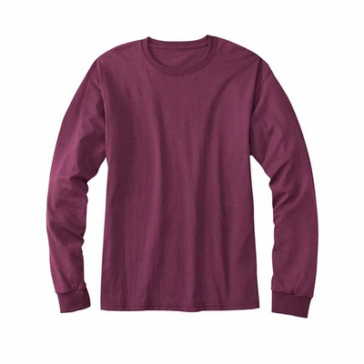 Hanes Men's T-Shirt: Long Sleeve 50/50 ComfortBlend (5179)