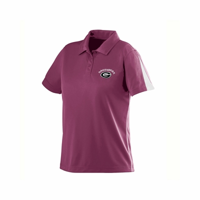 Augusta Sportswear Women's Polo Shirt: Poly Blend Colorblock Sport with Wicking/Odor Control (5037)