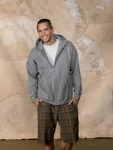 Hanes Men's Sweatshirt: 10 oz. PrintProXP Full-Zip Hood (F280)
