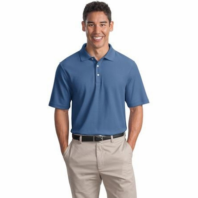 Port Authority Men's Polo Shirt: 100% Cotton Pique Knit (K800)