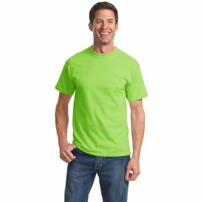 Port & Company Men's T-Shirt: 100% Cotton Essential (PC61)