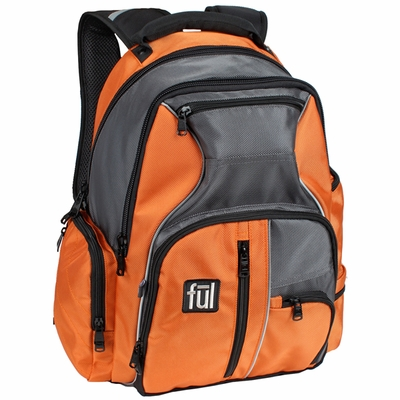 ful Laptop Backpack: Gibson with Dual Compartments and Laptop Sleeve (TG5094)