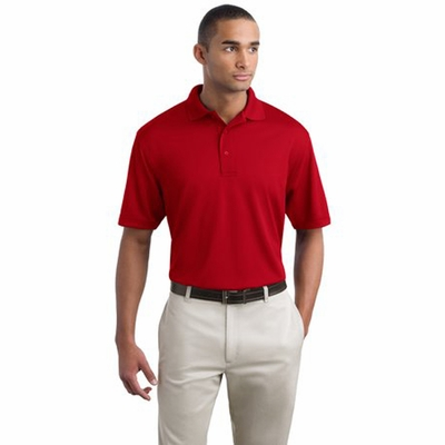 Port Authority Men's Polo Shirt: Bamboo Blend Pique (K497)