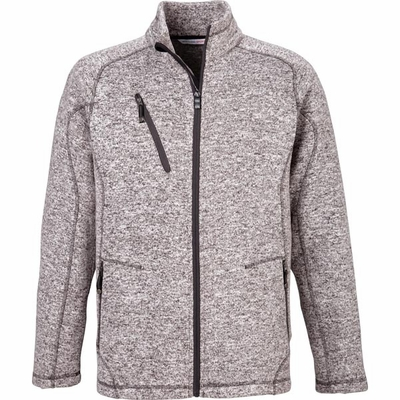 North End Men's Jacket: Full-Zip Sweater Fleece Easy Care (88669)