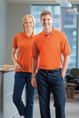 Harriton Women's Polo Shirt: 5 oz. Easy Blend (M265W)