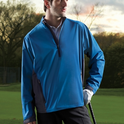 North End Men's Windshirt: Two-Tone Interlock Stretch (88656)