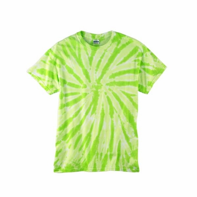 Tie-Dye Men's T-Shirt: 100% Cotton Twist Pattern (CD110)