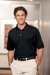 Harriton Men's Polo Shirt: 5 oz. Easy Blend with Pocket (M265P)