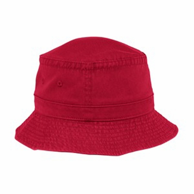 Port Authority Bucket Hat: 100% Cotton Sportsman (PWSH)