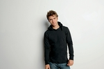 Canvas Men's T-Shirt: 100% Cotton Driftwood Long-Sleeve Jersey Hoodie (3512)