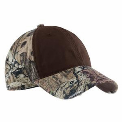 Port Authority Cap: Camouflage Contrast Front Panels (C807)
