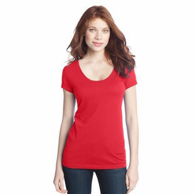 District Threads Women's T-Shirt: Junior Deep Scoop (DT245)
