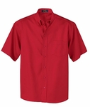 Ash City Men's Twill Shirt: Short Sleeve Cotton Blend (87016)