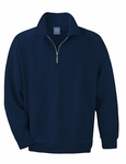 Ash City Men's Polo Shirt: 100% Cotton Fleece Half-Zip (221212)