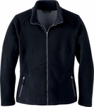 Ash City Women's Jacket: Bonded Jacquard Fleece (78078)