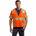 CornerStone Men's Safety Vest: ANSI Class 3 Dual-Color (CSV406)